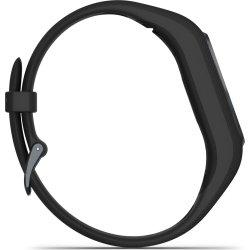 Garmin vívosmart® 4, midnatsgrå med sort rem