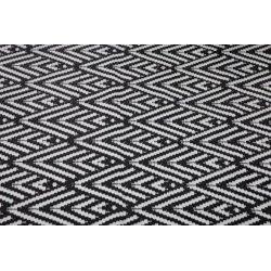 Envy udendørs tæppe, 120 x 180 cm, sort/hvid