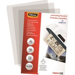 Fellowes Capture 125 mic A3 lamineringslomme gloss