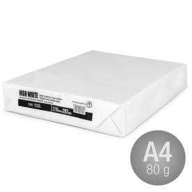 High White kopipapir A4 80g