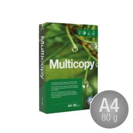 Multicopy Kopipapir A4/80gr. m/4 huller, svenske