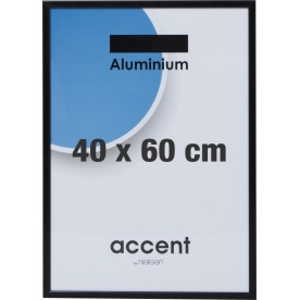 Accent Skifteramme 40 x 60 cm, sort