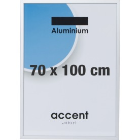 Accent Skifteramme 70 x 100 cm, sølv