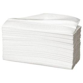 Håndklædeark 2-lag, interfoldet, hvid