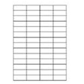 b.n.t. OfficeLine Multi etiket, 52 x 21mm