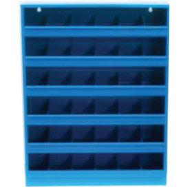 Boltreol 24 rum, blå, (BxDxH) 50x77,5x16