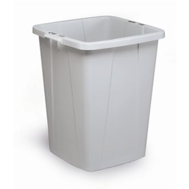 Affaldsspand 90 l, 510x487x630, Grå