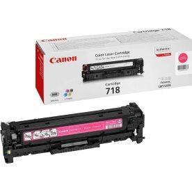 Canon nr.718M/2660B002AA lasertoner, rød, 2900s