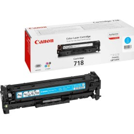 Canon nr.718C/2661B002AA lasertoner, blå, 2900s