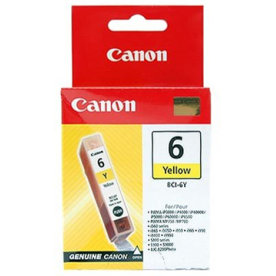 Canon BCI-6Y blækpatron, gul, 280s