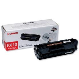 Canon FX-10/0263B002AA lasertoner, sort, 2000s
