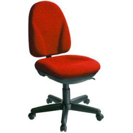 Deluxe kontorstol, rød