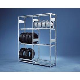META Clip S3 dæk/fælgereol, 250x100x50 Tilbyg