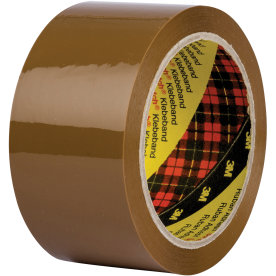 3M Scotch Pakketape 50 mm, PP, brun
