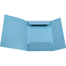 DKF Kartonmappe nr. 125, A4, blå