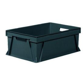 Arca lagerkasse 44 l, Recycling, 60x40x23 cm, Grå