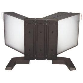 Infocenter bordmodel A4 med 40 lommer, sort