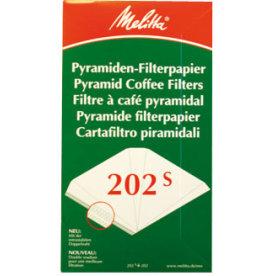 Kaffefilter nr 202 til 171m, 100 stk, pyramide