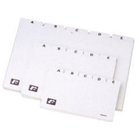 Esselte Kartoteksregister A6, a-å 5-delt, plast
