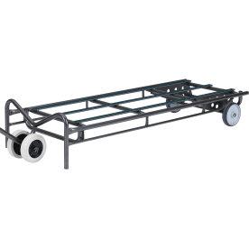 Kørestangsvogn  Længde 120 cm til bord med klapste