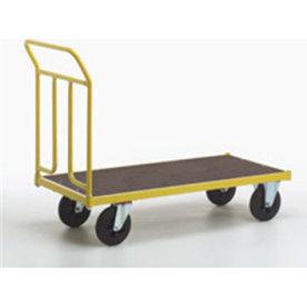 Ravendo lagervogn,125x65 cm, 400 kg, Massive hjul