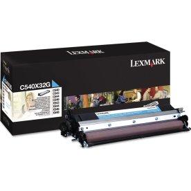 Lexmark 0C540X32G lasertromle, blå, 30000s