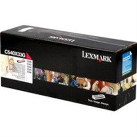 Lexmark 0C540X33G lasertromle, rød, 30000s