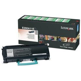Lexmark E260A11E lasertoner, sort, 3500s