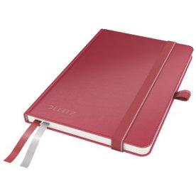 Leitz Complete notesbog A6, linjeret, rød