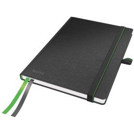 Leitz Complete notesbog A5, linjeret, sort