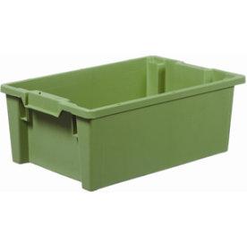 Arca stabelkasse 40 liter, 600x400x220, Grøn
