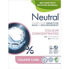Neutral Vaskepulver, kulørt vask, 675 g