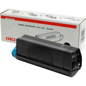 OKI 42127408 lasertoner, sort, 5000s