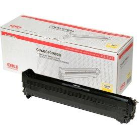OKI 42918105 lasertromle, gul, 30000s