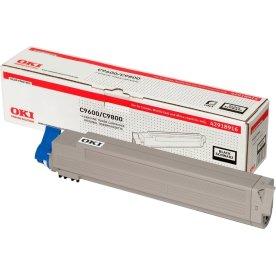 OKI 42918916 lasertoner, sort, 15000s