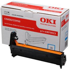 OKI 43870023 lasertromle, blå, 20000s