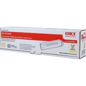 OKI 44059105 lasertoner, gul, 8000s