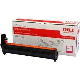 OKI 44064010 lasertromle, rød, 20000s