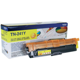 Brother TN241Y lasertoner, Gul, 1400 sider