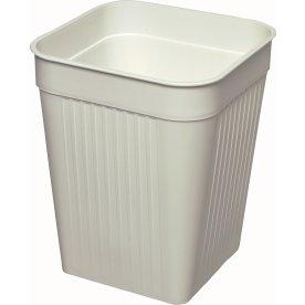 Bantex Orth papirkurv, 14 liter, hvid