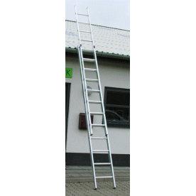 Skydestige 2-delt 2x18 - Højde 9,80 m