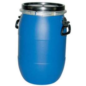 Opbevaringstønde med låg, 30 liter