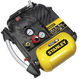 Stanley kompressor 5 l, 1,5 hk, 10 bar