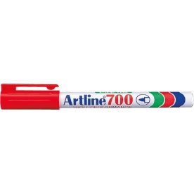 Artline EK700 permanent marker, rød