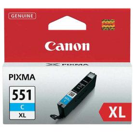 Canon CLI-551XL C Blækpatron, Blå, 11 ml
