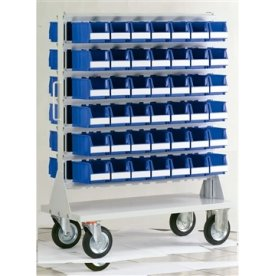 Dobbeltstativ hjul inkl. 84 systembox 4