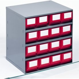Lagermagasin eks. systemkasser (DxH) 300x81 mm