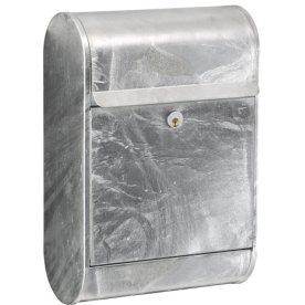 Allux 9000 Postkasse, zinkgalvaniseret stål