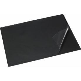 Skriveunderlag m. dækplade sort, 49x65