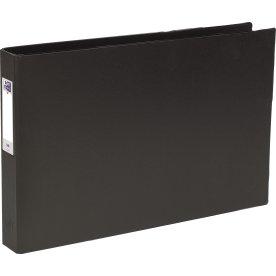 Elba Ringbind A3, tværformat, sort